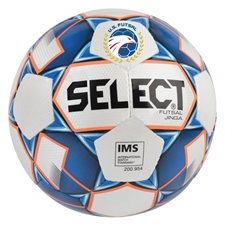 Select Futsal Jinga Ball (White/Blue/Orange)