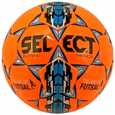 Select Futsal Magico Soccer Ball (Orange/Black/Royal)