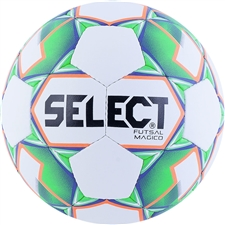 Select Magico Futsal Ball 18 (White/Green/Orange)