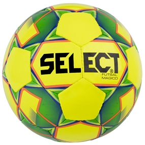 Select Magico Futsal Ball 18' (Yellow/Green)