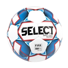 Select Brilliant Super Soccer Ball (White/Blue/Red)
