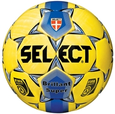Select Brilliant Super Soccer Ball (Yellow)