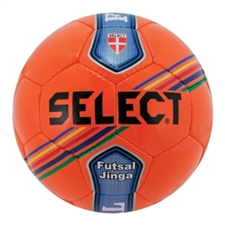 Select Futsal Jinga Soccer Ball (Orange/Blue/Green)