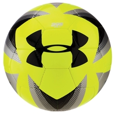 Under Armour Desafio 395 Soccer Ball (High Vis Yellow/Steel)