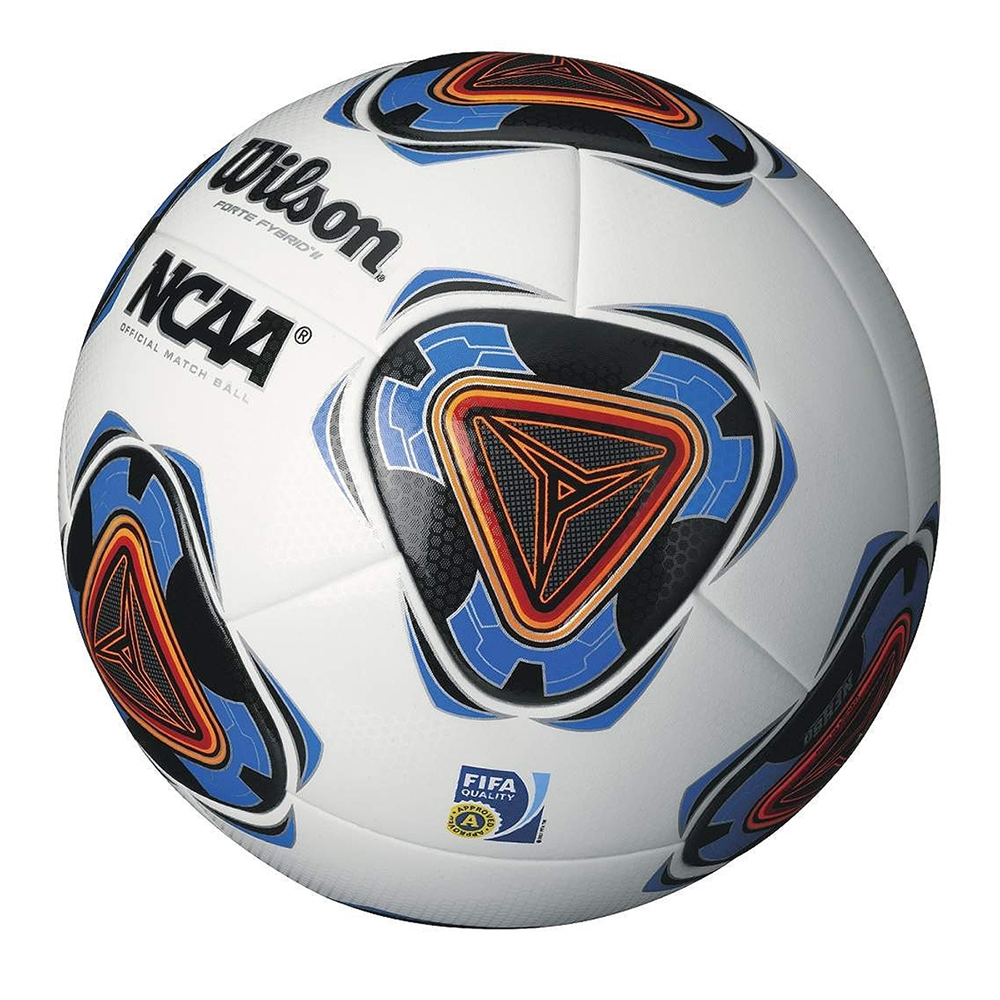 116.99 - Wilson Forte Fybrid II NCAA Soccer Ball (White Blue Orange ... b555f110c