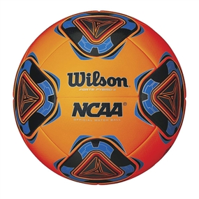 Wilson Forte Fybrid II NCAA Soccer Ball (Orange/Black/Blue)
