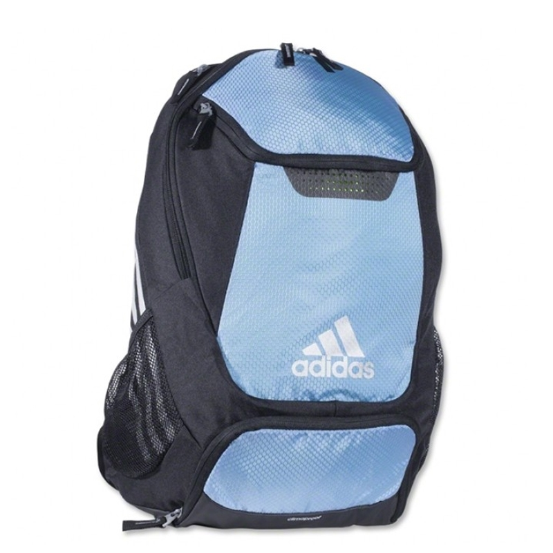 53.99 - Adidas Stadium Team Soccer Backpack (Light Blue) -  18d6ccb7d6bea
