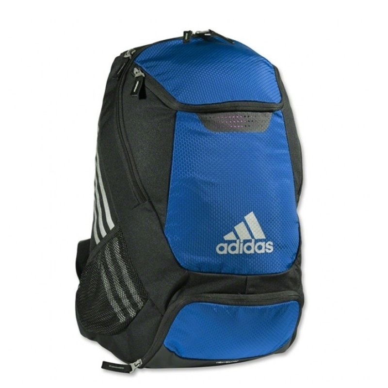 Adidas Stadium Team Soccer Backpack (Bold Blue) -  8046f597663ba