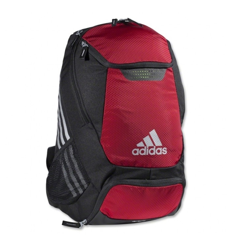 Adidas Stadium Team Soccer Backpack Red