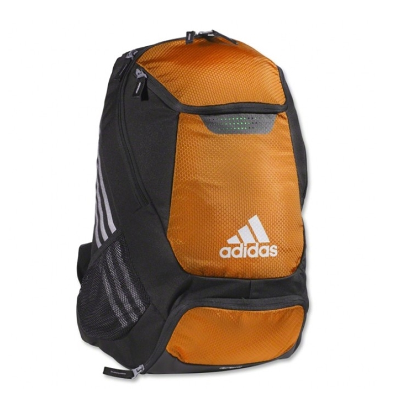 Adidas Stadium Team Soccer Backpack Orange