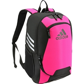 Adidas Stadium II Team Soccer Backpack (Shock Pink)