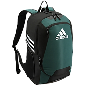 Adidas Stadium II Team Soccer Backpack (Collegiate Green)