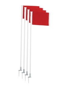 Champion Spring Loaded Steel Base Soccer Corner Flag