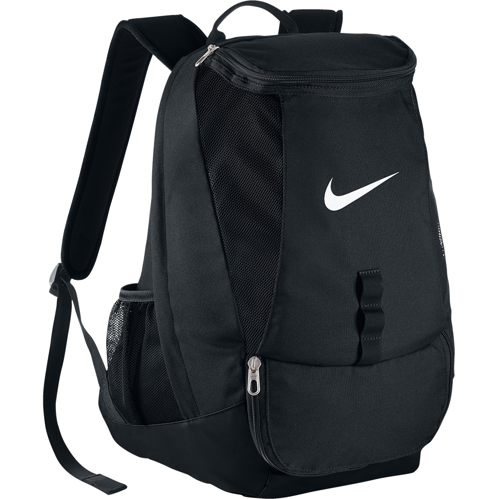 nike black and white backpack