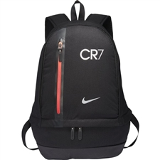 Nike CR7 Cheyenne Backpack (Black/Track Red/Metallic Silver)