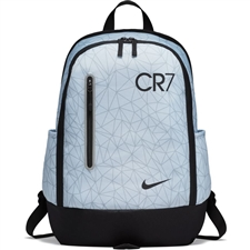Nike CR7 Youth Soccer Backpack (Pure Platinum/Black)