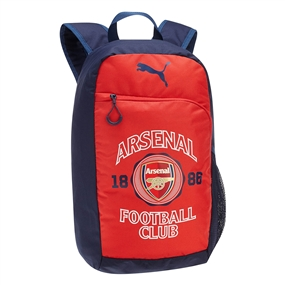 Puma Arsenal Crest Backpack (Red/Estate Blue/White)