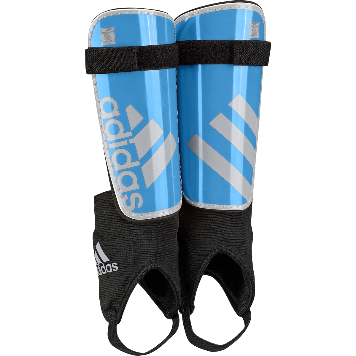 10 71 Adidas Youth Ghost Soccer Shinguards Blue Silver