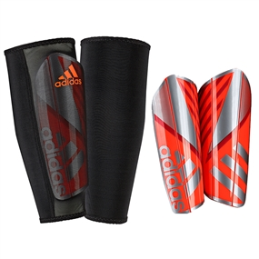 Adidas Ghost Pro Soccer Shinguards (Solar Red/Iron Metallic)