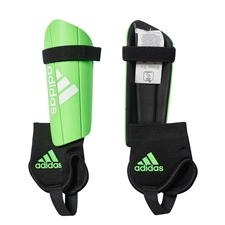 Adidas Youth Ghost Club Soccer Shinguards (Slime Green/Black)