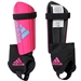 Adidas Youth Ghost Club Soccer Shin Guards (Shock Pink/Bright Cyan/Black)