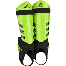 Adidas Youth Ghost Soccer Shin Guards (Solar Green/Black)