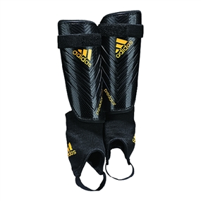 Adidas Predator Club Soccer Shinguards (Black/Solar Gold)