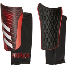 Adidas Predator 20 League Shin Guards (Black/Active Red)