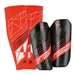 Adidas F50 Pro Lite Soccer Shinguards (Black/Red)