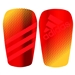 Adidas Ghost Soccer Shinguards (Solar Red/Solar Gold)