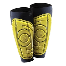 G-Form Pro-S Soccer Shin Guards (Yellow/Black)