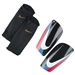 Nike CR7 Mercurial Lite Soccer Shinguards (Black/White/Blue Glow/Pink Flash)
