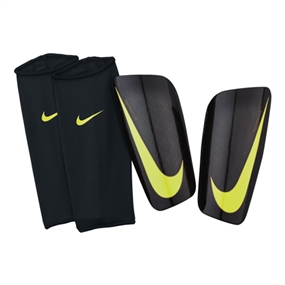 Nike Mercurial Lite '15 Soccer Shinguards (Black/Volt)