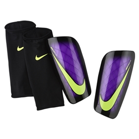 Nike Mercurial Lite '15 Soccer Shinguards (Hyper Grape/Black/Volt)