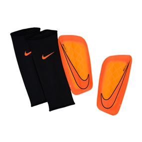 Nike Mercurial Lite '15 Soccer Shinguards (Total Orange/Bright Citrus)