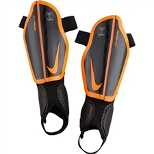 Nike Youth Protegga Flex Shin Guards (Black/Total Orange)
