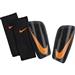 Nike Mercurial Lite Soccer Shin Guards (Dark Grey/Black/Total Orange)