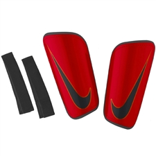 Nike Mercurial Lite '16 Soccer Shin Guards (Bright Crimson/University Red)