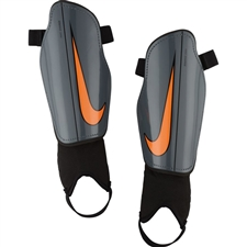 Nike Charge 2.0 Soccer Shin Guards (Dark Grey/Black/Total Crimson)