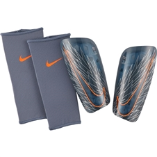 Nike Mercurial Lite Soccer Shin Guards (Armory Blue/Hyper Crimson)