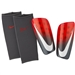 Nike Mercurial Lite Soccer Shin Guards (Light Crimson/Dark Grey/White)