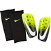 Nike Mercurial Lite Soccer Shin Guards (Volt/Black/White)
