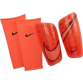 Nike Mercurial Lite Soccer Shin Guards (Bright Mango/Anthracite)