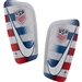 Nike USA Mercurial Lite Shin Guards (White/University Red/Gym Blue)