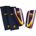 Nike FC Barcelona Mercurial Lite Shin Guards (Deep Royal Blue/University Gold)