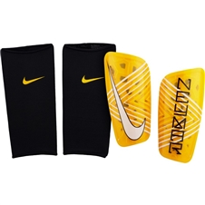 Nike Neymar Mercurial Lite Soccer Shin Guards (Amarillo/Black)
