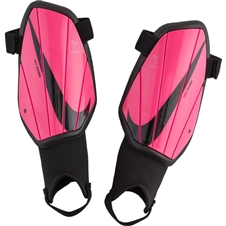 Nike Youth Charge Soccer Shin Guards (Pink Blast/Black)