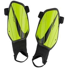 Nike Youth Charge Soccer Shin Guards (Volt/Black)