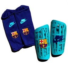 Nike FC Barcelona Mercurial Lite Shin Guards '19-'20 (Cabana/Deep Royal)