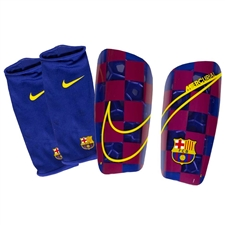 Nike FC Barcelona Mercurial Lite Shin Guards '19-'20 (Deep Royal Blue/University Gold)